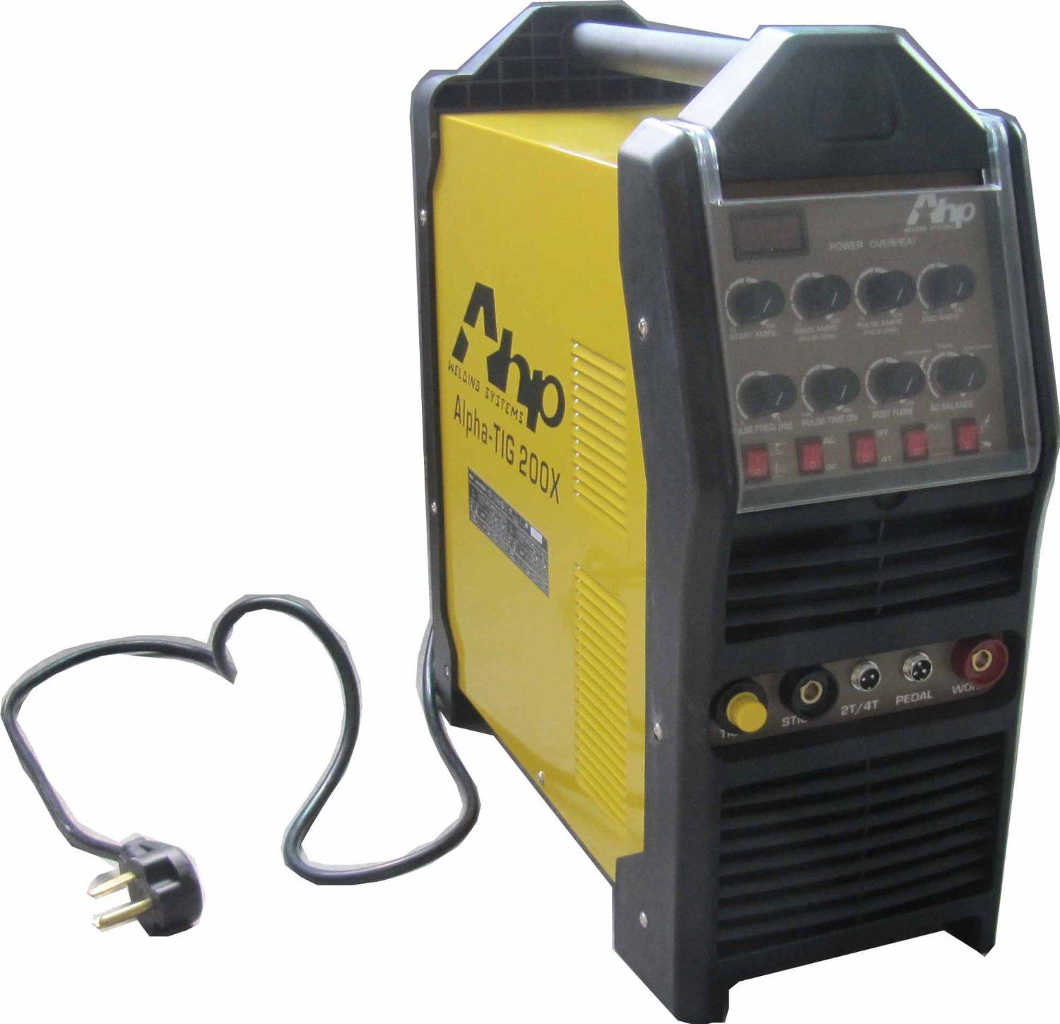 Ahp Alphatig 200x 200 Amp Igbt Ac Dc Tig Stick Welder With Pulse Welding Machine Circuit Board On Diagram 110v And 200v