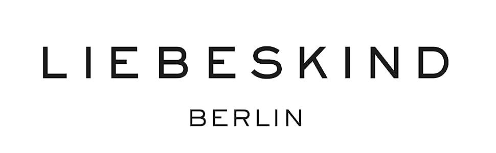 Liebeskind Berlin Damen Satchelm Logo Henkeltasche, Rot