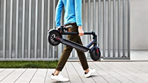Xiaomi Mi Scooter - Patinete eléctrico plegable, 30 Km alcance ...