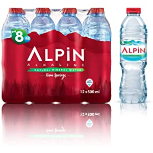 Alpin Alkaline Low Sodium Mineral Water