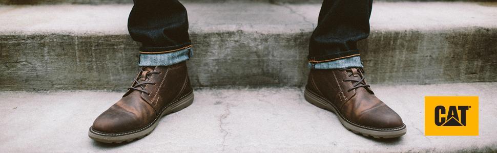 e71370db0c554 Amazon.com | Caterpillar Men's Trey Fashion Boot | Chukka
