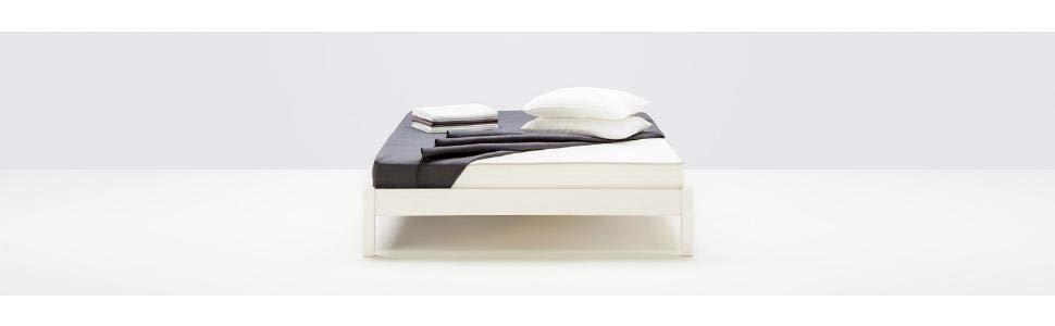 Amazon Basics Colchón extra confort de muelles de 7 zonas, 90 x 200 cm - Medium hard (H3 / H3 +)