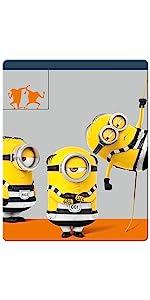 【Amazon.co.jp限定】怪盗グルーのミニオン大脱走 スチール・ブック仕様 ブルーレイ+ボーナスDVD セット(2枚組)