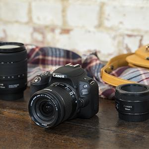 Canon EOS 200D with EF-S 18-55mm f/4-5.6 IS STM Lens Silver