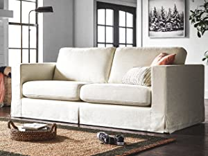 Stone & Beam Bryant living room furniture sofa loveseat slipcover collection