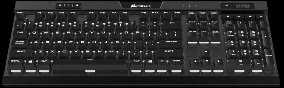 Corsair K70 RGB MK.2 Teclado Mecánico Gaming, Cherry MX Blue ...