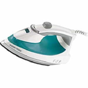 Black Decker Lightweight Steam Iron 1200 Watt Clothing
