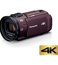 Panasonic 4K ビデオカメラ VZX1M 64GB あとから補正 ブラウン HC-VZX1M-T