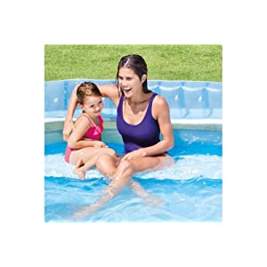 Intex 57190NP - Piscina hinchable con sillón 229 x 218 x 79 cm ...