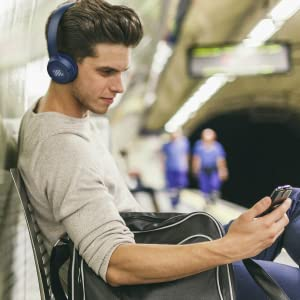 JBL Tune T500BT Powerful Bass Bluetooth Wireless On-Ear Headphones with Mic
