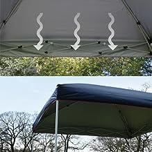 キャンパーズコレクション プロモレジャータープ PLT キャリーケース付 シルバーコーティング 耐水圧 シルバーコーティング採用