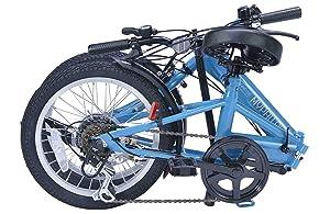 My Pallas マイパラス 折りたたみ自転車 M-102 16インチ 6段変速