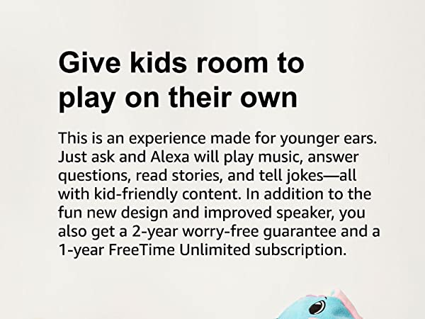 Give kids room to play on their own