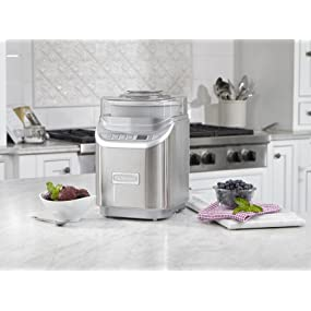Amazon Com Cuisinart Ice 70 Electronic Ice Cream Maker