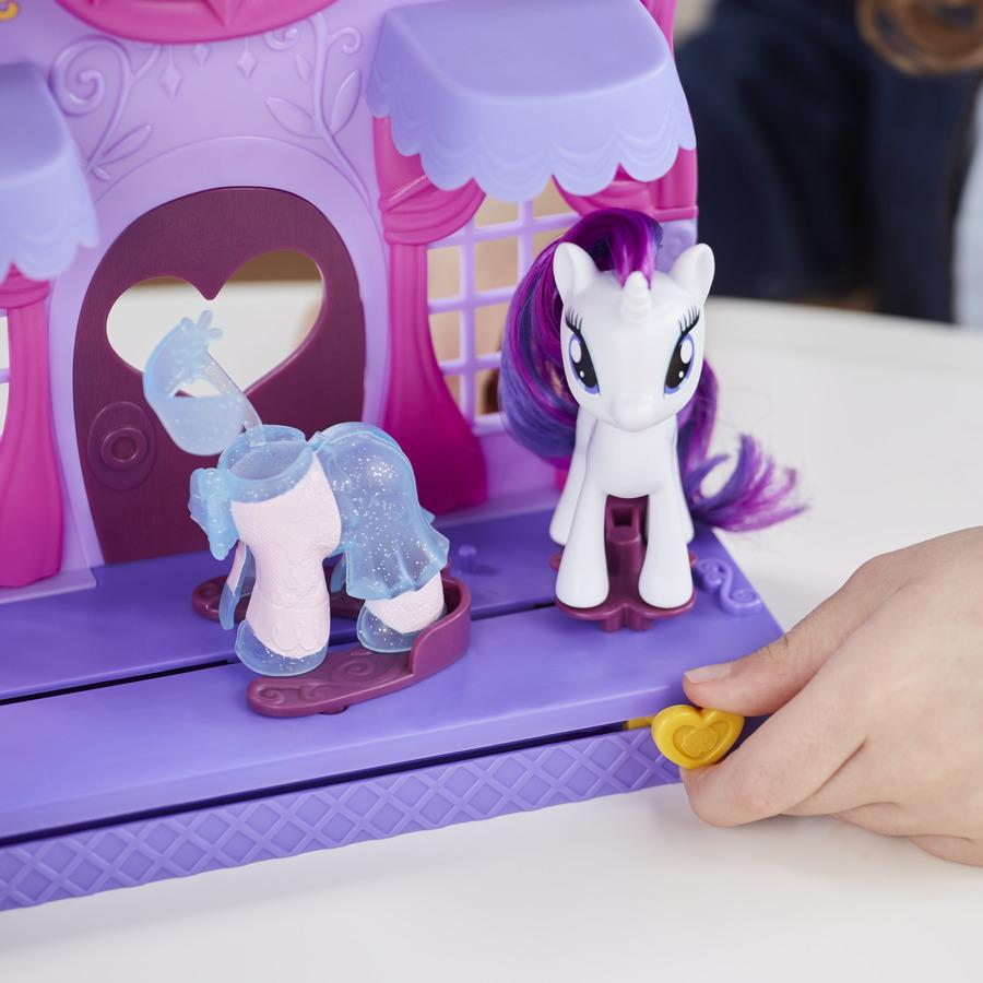 My Little Pony Friendship Is Magic Rarity Fashion Runway Playset Toys Games