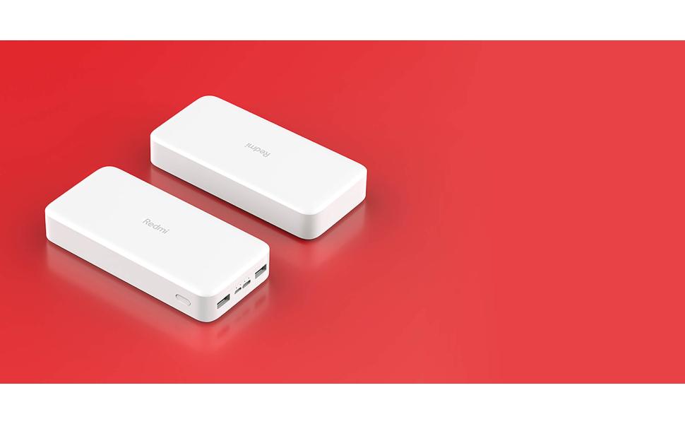 Xiaomi VXN4304GL Redmi Fast Charge Power Bank 20000mAh - black