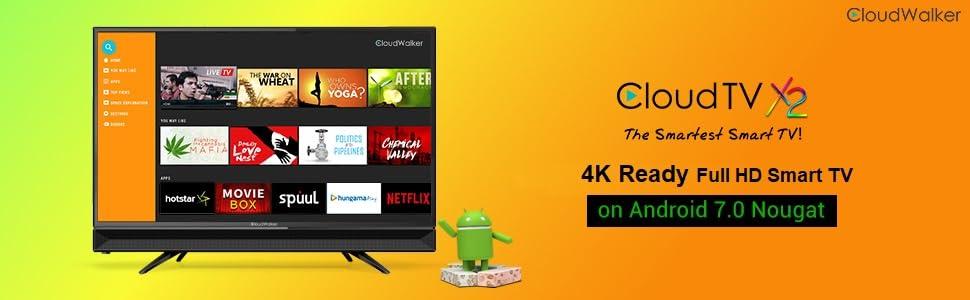 CloudWalker 80 cm 4K Ready Smart HD Ready LED TV: Amazon.in: Electronics