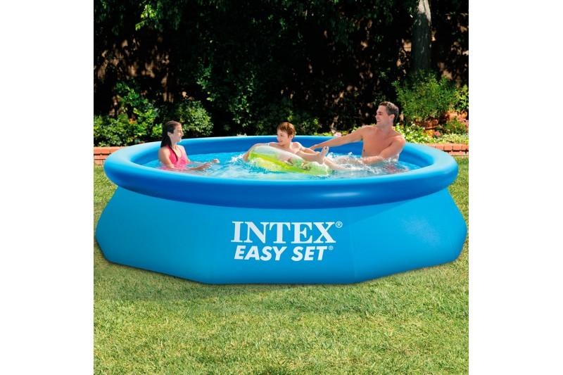 Intex easy set piscina inflable 305 x 76 cm con for Piscina inflable intex