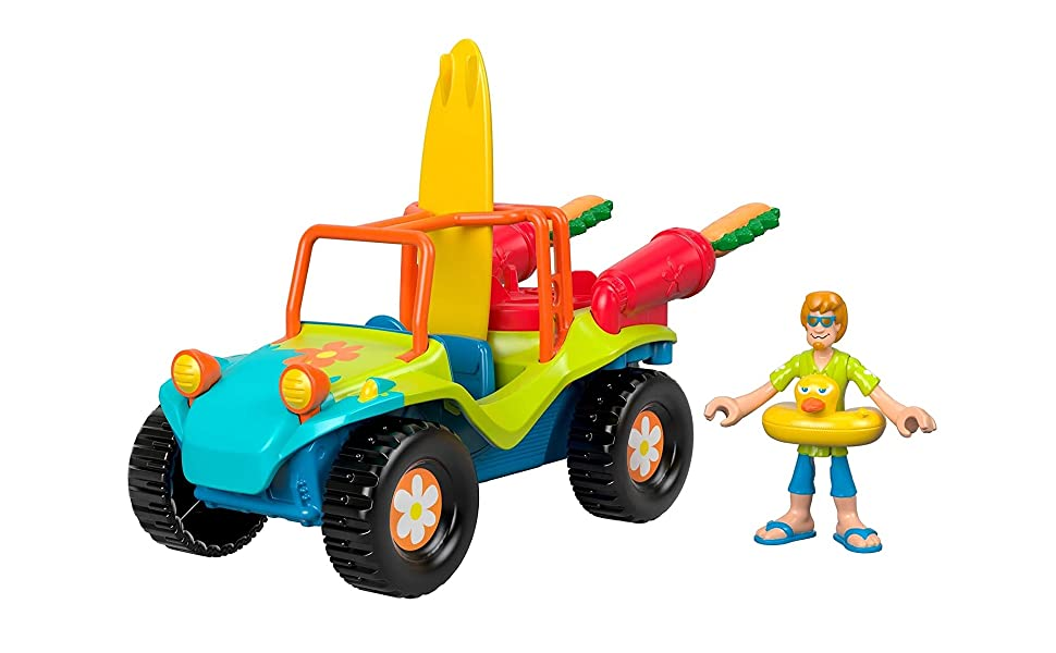 - Amazon.com: Fisher-Price Imaginext Scooby-Doo Shaggy's Dune Buggy -  Figures, Multi Color: Toys & Games