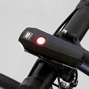 CAT EYE(キャットアイ) LED ヘッドライト VOLT200 HL-EL151RC USB充電 ブラック 電池残量が一目でわかるインジケータ