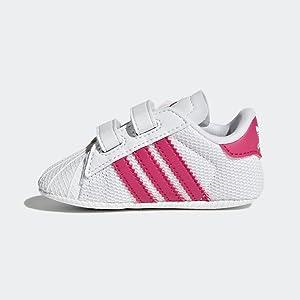 adidas Superstar Crib, Zapatillas Unisex Bebé: Amazon.es: Zapatos ...
