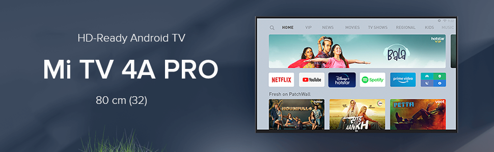 Mi TV 4A PRO 80 cm HD Ready Android LED TV | With: Amazon.in