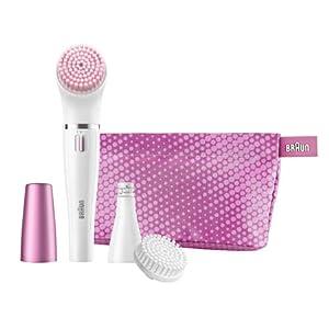 Braun Face SE832S Color Facial Cleansing Brush & Facial Epilator Limited Edition w/ Sensitive Brush