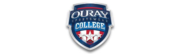 Ouray Sportswear NCAA Navy Mens Peerless DLXPeerless DLX