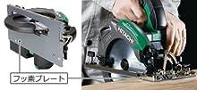 フッ素プレート装着で、摩擦抵抗を軽減し切断スピード約20%※1 アップ
