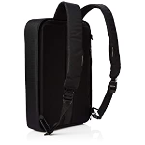XD Design Bobby Bizz Anti-Theft Backpack/Briefcase, Unisex – Black