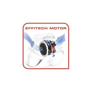 Tefal TW3723GA Compact Power Cyclonic Bagless Vacuum Cleaner, 700 Watt - Multi Color