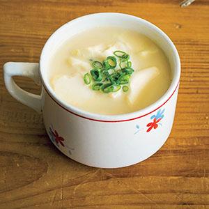 豆腐と豆乳のマグカップみそ汁