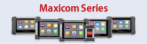 Autel MaxiCOM MK808TS TPMS Scanner with Complete TPMS and Sensor Programming