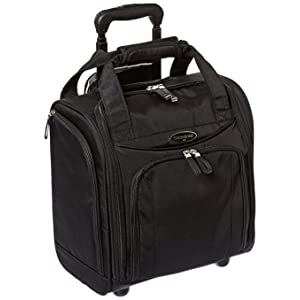 Amazon.com | Samsonite Wheeled Underseater Small, Black, One Size ...