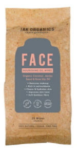 JAKS Organics Bamboo Face Wipes