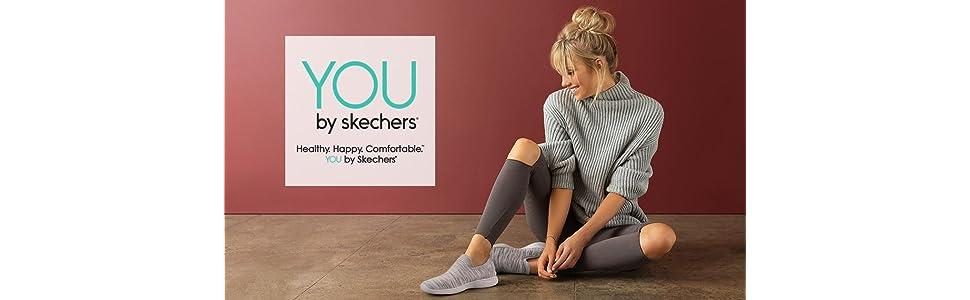 Skechers Women's You Movement Slip On Shoe:
