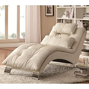 coaster home furnishings chaise