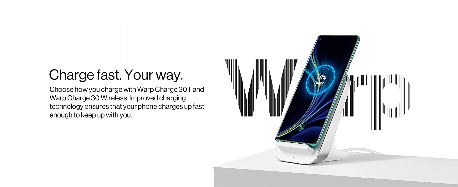 Warp charging