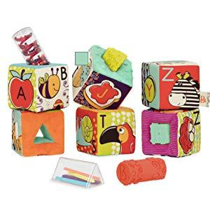 B. toys baby toddler girl boy educational learning developmental toys soft chewing block blocks