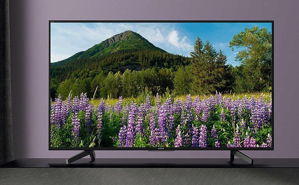 Sony 65 Inch Led 4K Ultra Hd Smart Tv, Black - Kd-65X7000F