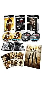 【Amazon.co.jp限定】LOGAN/ローガン USオリジナル・フォトブック付 (4枚組)