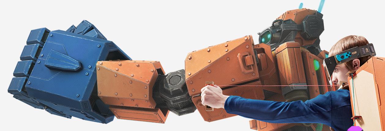 Switch Nintendo Labo: Toy-Con Kit de vehículos: nintendo