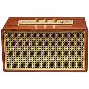 AmazonBasics Vintage Bluetooth Speaker