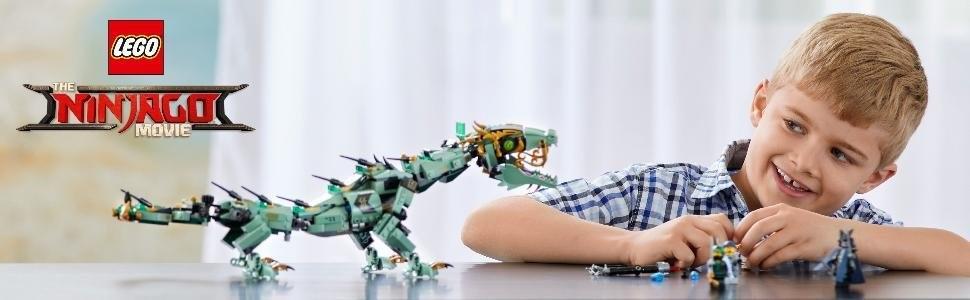 LEGO Ninjago - Dragón mecánico del Ninja Verde (70612): Amazon.es ...