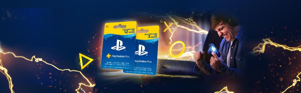 Sony PSN Plus - Tarjeta para 365 días, Reedición, Código Digital ...