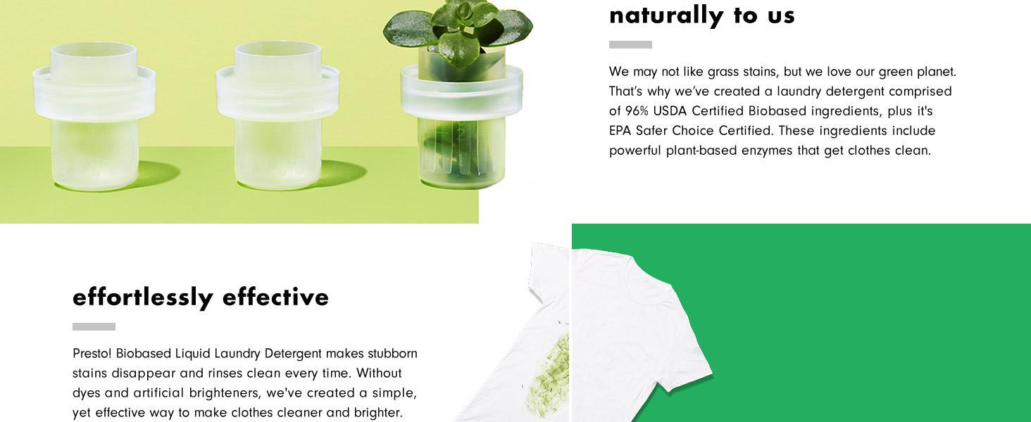 Amazon.com: Presto! Detergente de lavandería con ...