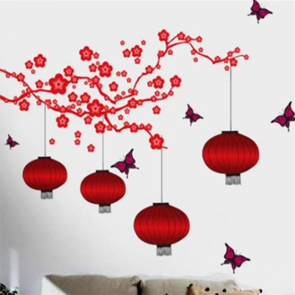 press firmly along the border of the wall stickers to ensure no loose edges - Wall Designs Stickers