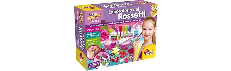 Lisciani Giochi I/'m a Genius Laboratorio dei Rossetti 66872