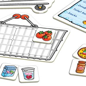 Orchard Toys Shopping List Game Closeup