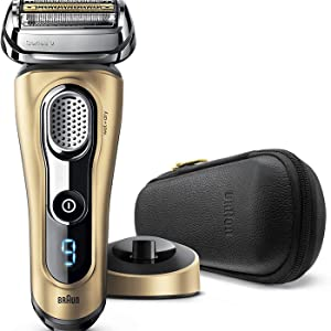 Braun Series 9 9299s Máquina de afeitar de láminas Recortadora Oro - Afeitadora (Máquina de afeitar de láminas, Oro, 50 min, 1 h, 75,5 mm, 190 mm): Amazon.es: Salud y cuidado personal
